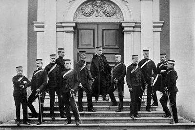 Field Marshal Lord Roberts and His Headquarters Staff, Kilmainham, Ireland, 1896