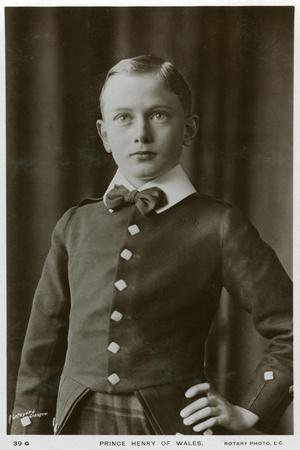 Prince Henry of Wales, C1905-C1909