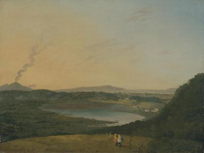 Lago D'Agnano with Vesuvius in the Distance, C.1770-75-Richard Wilson-Giclee Print