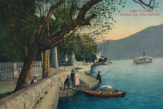 'Lago di Como. Entrata alla Villa Carlotta', c1888-Unknown-Giclee Print