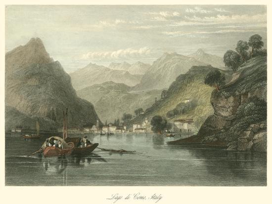 Lago Di Como, Italy-W.L. Leitch-Art Print