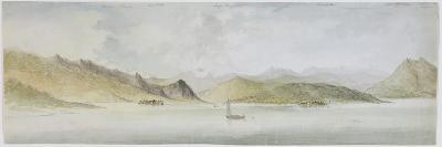 Lago Maggiore (W/C, Pen, Ink and Graphite on Paper)-Charles Gore-Giclee Print