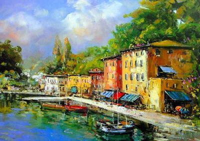 Lago Maggiore-E^ Scognamiglio-Art Print