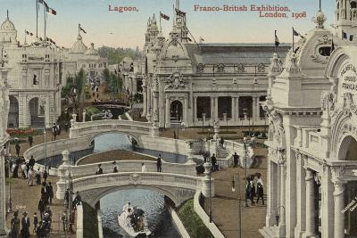 Lagoon, Franco-British Exhibition, White City, London, 1908--Photographic Print
