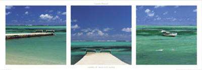 Lagoon of Mauritius Island-Laurent Pinsard-Art Print