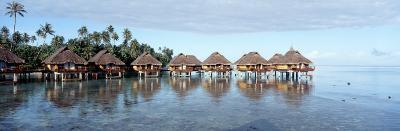Lagoon Resort, Island, Water, Beach, Bora Bora, French Polynesia--Photographic Print
