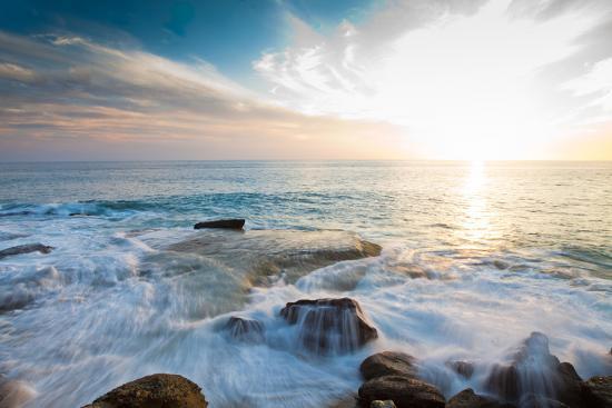 Laguna Beach Shore Break and Waves-Ben Horton-Photographic Print