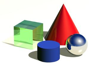 Geometric Shapes, Artwork by Laguna Design