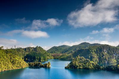 Laguna La Canada at Lagunas De Montebello National Park, Chiapas, Mexico-Witold Skrypczak-Photographic Print