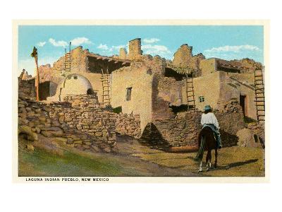 Laguna Pueblo, New Mexico--Art Print