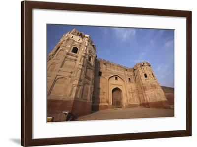 Lahore Fort, the Mughal Emperor Fort in Lahore, Pakistan-Yasir Nisar-Framed Photographic Print
