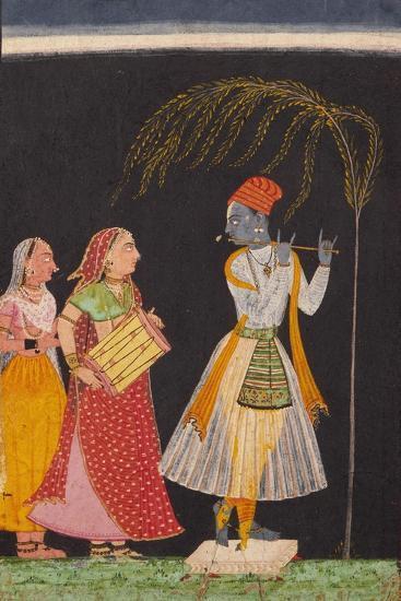 Lahula Ragaputra, Son of Dipak Raga--Art Print