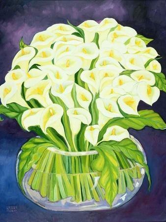 Calla Lilies, 1989