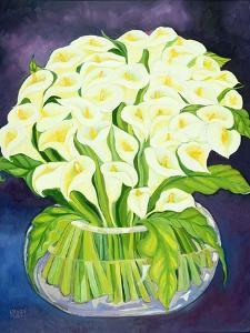 Calla Lilies, 1989 by Laila Shawa
