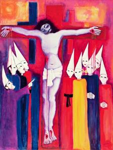Christ and the Politicians, 2000 by Laila Shawa