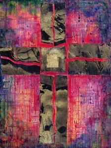 Divided Cross, 2000 by Laila Shawa