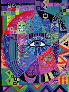 Eye of Destiny, 1992 by Laila Shawa