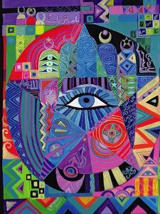 Eye of Destiny, 1992 by Laila Shawa