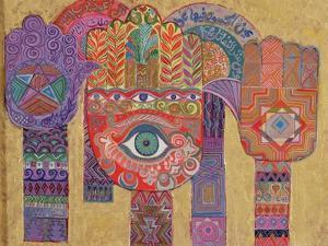 Protective Amulets, 1992 by Laila Shawa