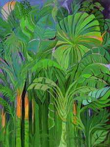 Rain Forest, Malaysia, 1990 by Laila Shawa