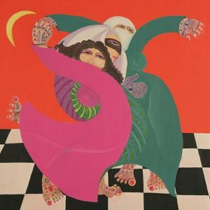The Zar I, 1992 by Laila Shawa
