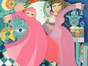 The Zar II, 1992 by Laila Shawa