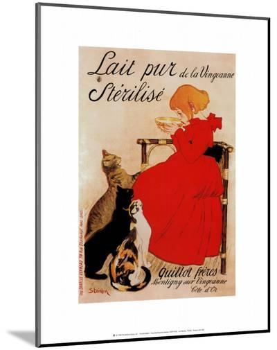 Lait Sterilise-Th?ophile Alexandre Steinlen-Mounted Print
