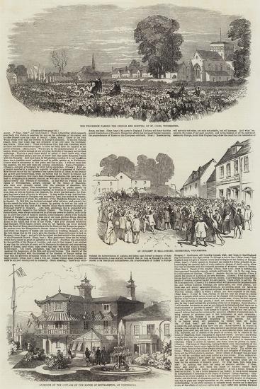 Lajos Kossuth in Southampton--Giclee Print