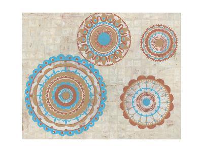 Lakai Circles-Kathrine Lovell-Art Print