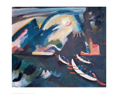 Lake, 1910-Wassily Kandinsky-Giclee Print