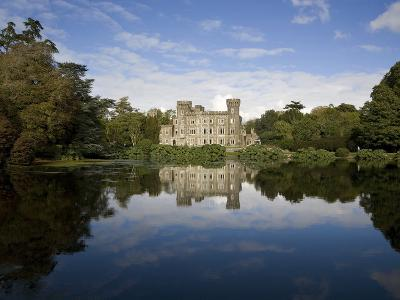 Lake And 19th Century Gothic Revival Johnstown Castle, Co Wexford, Ireland--Photographic Print