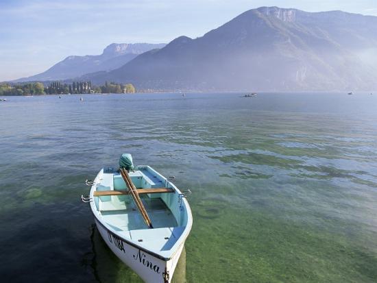 Lake Annecy, Rhone Alpes, France-John Miller-Photographic Print