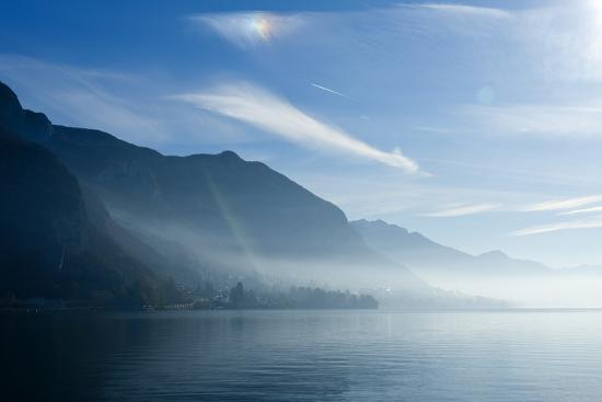 Lake Annecy, Savoie, France, Europe-Graham Lawrence-Photographic Print