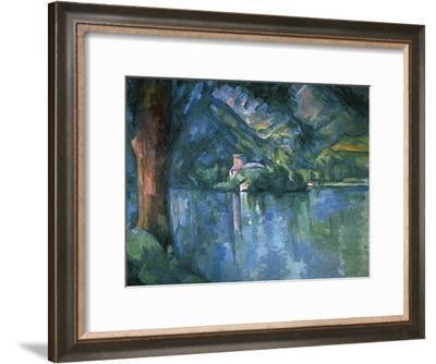 Lake Annecy-Paul C?zanne-Framed Art Print
