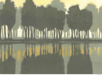 Lake at Dawn I-Norman Wyatt Jr^-Art Print