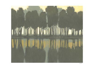 Lake at Dawn II-Norman Wyatt Jr^-Art Print
