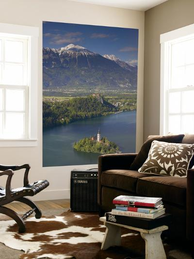 Lake Bled, Gorenjska, Slovenia-Walter Bibikow-Giant Art Print