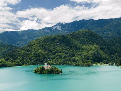 Lake Bled, Slovenia, Balkans, Europe-Lawrence Graham-Photographic Print