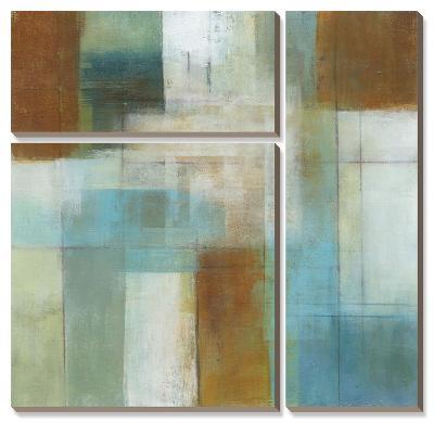 Lake Blue Essence I-W^ Green-Aldridge-Canvas Art Set