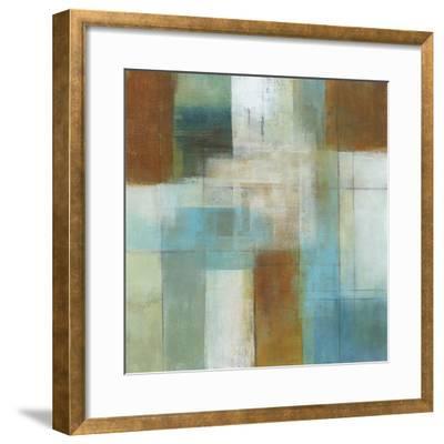 Lake Blue Essence I-W^ Green-Aldridge-Framed Giclee Print