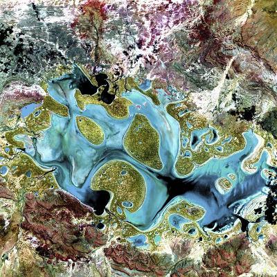 Lake Carnegie, Australia--Photographic Print