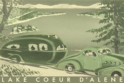 Lake Coeur D'Alene--Art Print
