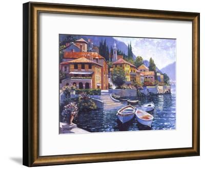 Lake Como Landing-Howard Behrens-Framed Art Print