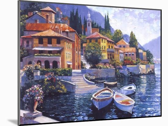 Lake Como Landing-Howard Behrens-Mounted Art Print