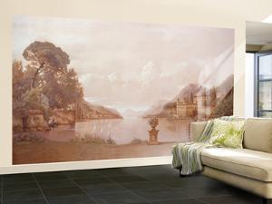 Lake Como Small Huge Mural Art Print Poster