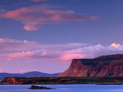 Lake from Near Bunessan, Loch Scridain, United Kingdom-Andrew Parkinson-Photographic Print