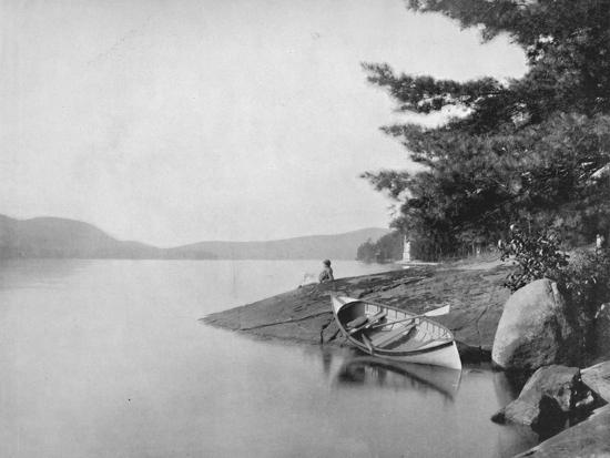 'Lake George', 19th century-Unknown-Photographic Print