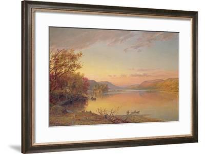 Lake George, NY, 1871-Jasper Francis Cropsey-Framed Giclee Print