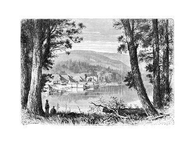 Lake Hakone, C1890--Giclee Print