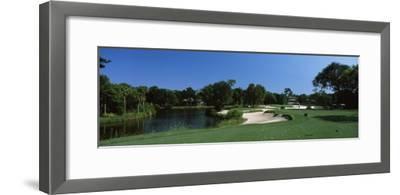Lake in a Golf Course, Osprey Point, Kiawah Island Golf Resort, Kiawah Island
